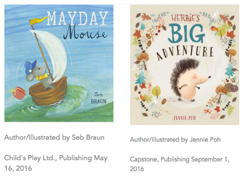 New 2016 books by bright authors illustrators the for Bright illustration agency