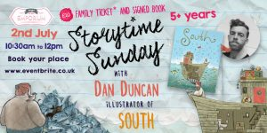 Storytime Sunday- Dan Duncan and South @ The Bright Emporium | England | United Kingdom