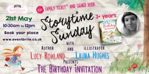 Storytime Sunday- Laura Hughes and Lucy Rowland with The Birthday Invitation @ The Bright Emporium | England | United Kingdom