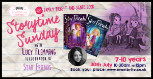 Storytime Sunday- Lucy Fleming with Str Friends Wish Trap and Star Friends Mirror Magic @ The Bright Emporium | England | United Kingdom