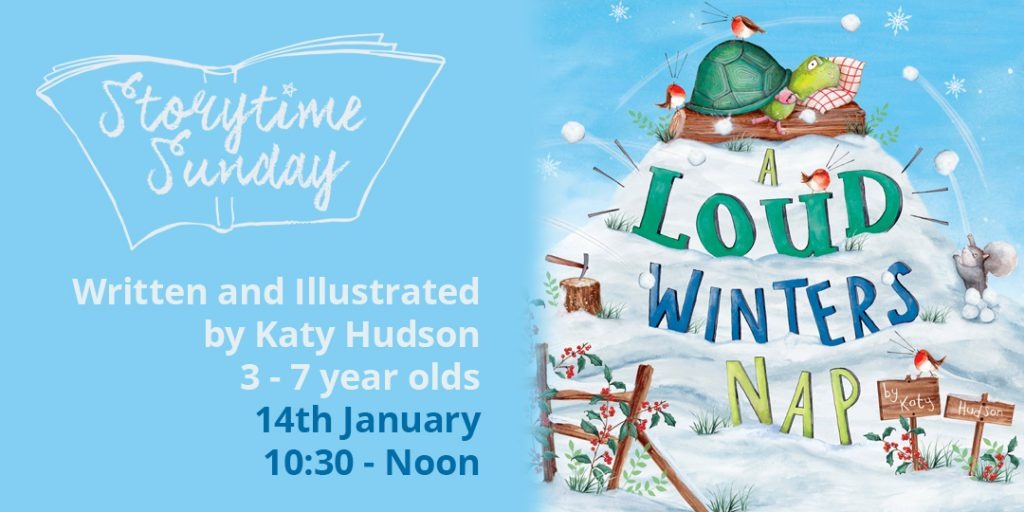 Storytime Sunday- Katy Hudson featuring 'A Loud Winters Nap' @ The Bright Emporium | England | United Kingdom