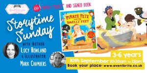 Storytime Sunday Smelly Special- Author Lucy Rowland and Illustrator Mark Chambers with TWO new books @ The Bright Emporium   England   United Kingdom
