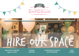 Available for hire @ The Bright Emporium | Camp Hill | Pennsylvania | United States