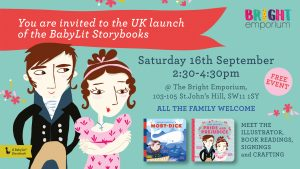 Babylit Book Launch- Moby Dick and Pride and Prejudice @ The Bright Emporium   England   United Kingdom