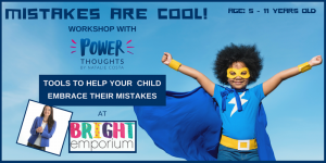Power thoughts - Mistakes are cool! @ The Bright Emporium | England | United Kingdom