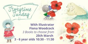 Meet Fiona Woodcock Special- Story reading with Fiona herself @ The Bright Emporium | England | United Kingdom